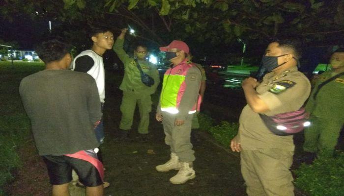 Satpol PP Laksanakan Operasi Giat Terpadu Penegakan Perbup No. 68 Tahun 2020