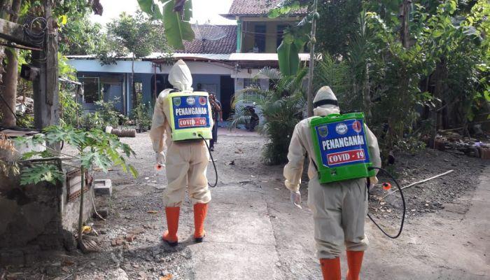 BPBD Lakukan Penyemprotan Lingkungan dan Fasilitas Umum