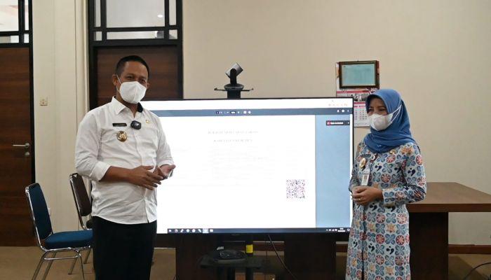Website Corona Kebumen Fasilitasi Pendaftaran Vaksin untuk Warga