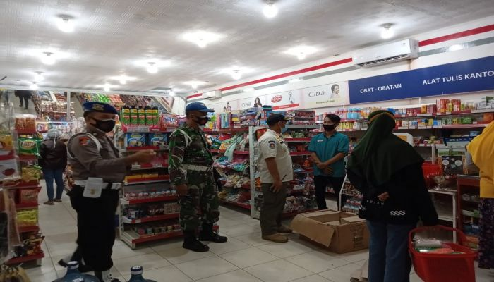 Operasi Gabungan PPKM di Kebumen dan Prembun