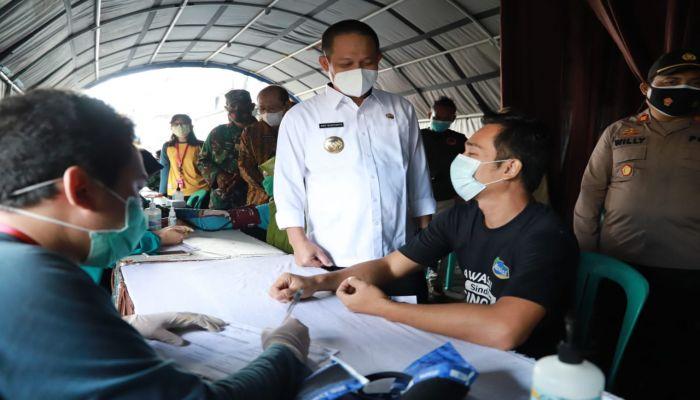 Vaksinasi untuk Pedagang Pasar Gencar Dilakukan