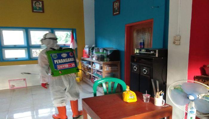 BPBD Giat Sterilisasi Di Sejumlah Fasum dan Pemukiman Warga