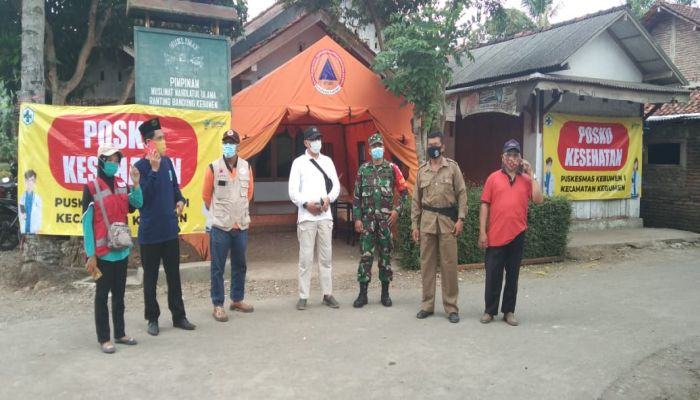 Kooordinasi Isolasi Mandiri Ponpes NH Bandungsruni Kebumen