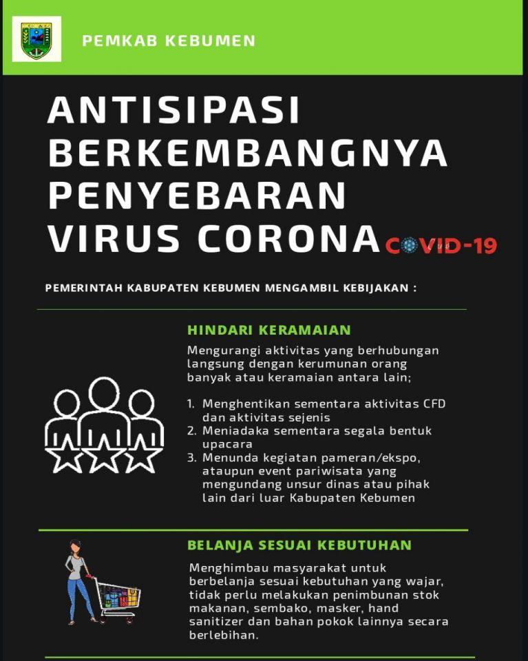 Antisipasi Berkembangnya Penyebaran Virus Corona